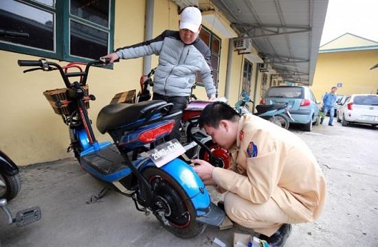 Đăng ký xe máy điện