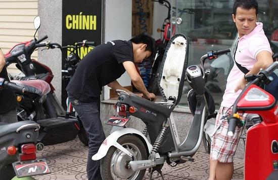 Nhiều loại xe đạp điện, xe máy điện trên thị trường là hàng nhái