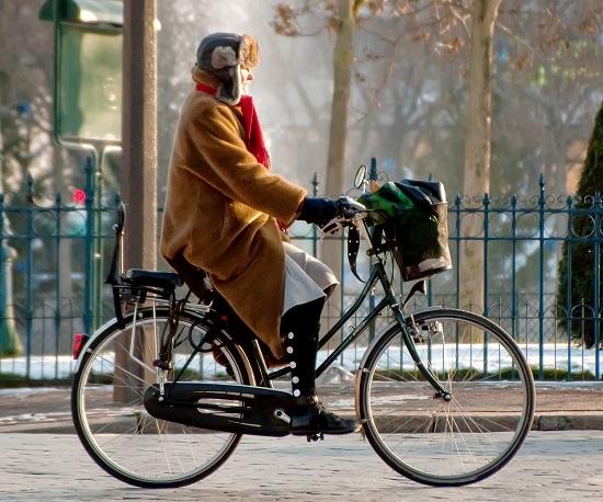 Xe đạp đi trong thành phố 3