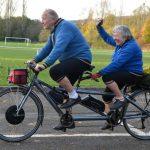 Những lưu ý khi đạp xe dành cho người trung niên